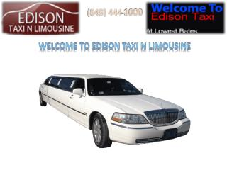 The Many Benefits of Hiring Taxi Services in Edison