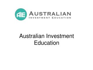 Australian Investment Education is Not a Scam