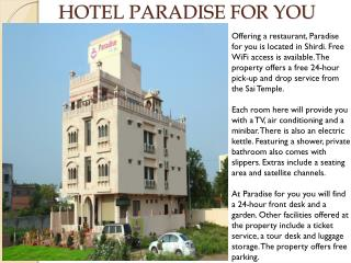 Hotel Paradise For You