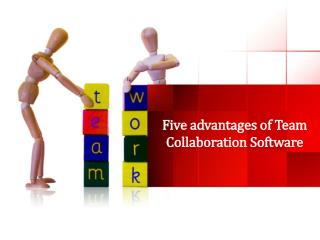 Five advantages of Team Collaboration Software