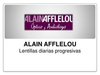 Conoce las nuevas lentillas diarias progresivas de ALAIN AFFLELOU