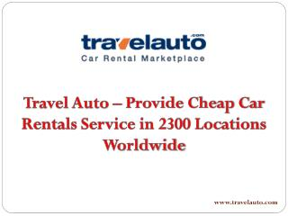 Car Rental Amman - Travel Auto
