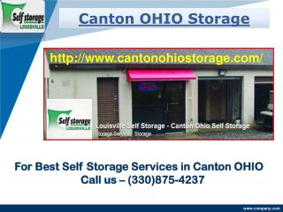 Canton OHIO Storage Columbus Rd