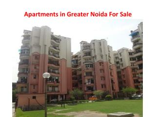 Apartments in Greater Noida