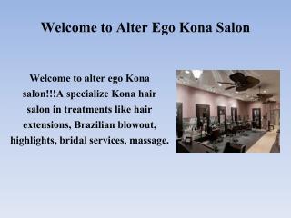 Kailua Kona hair salon