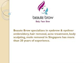 Beaute Brow The Most Trusted Skin and Body Care Service