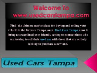Shopping for Used Cars online