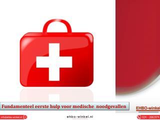 Fundamenteel eerste hulp voor medische noodgevallen