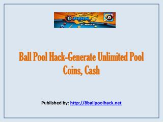 Ball Pool Hack-Generate Unlimited Pool Coins, Cash