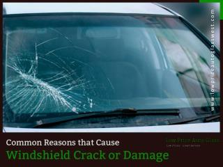 Causes for Windshield Repair in Dallas