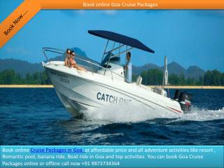 Book online Goa Cruise Packages