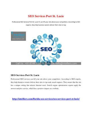 SEO Services Port St. Lucie