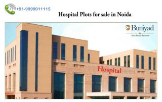 Hospital Land for sale in Noida
