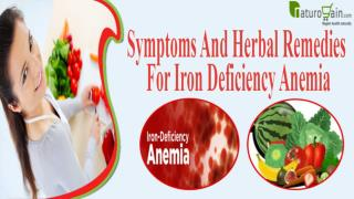 Symptoms And Herbal Remedies For Iron Deficiency Anemia