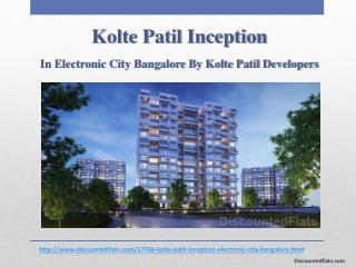 Kolte Patil Inception Lavish Flats at Electronic City, Bangalore