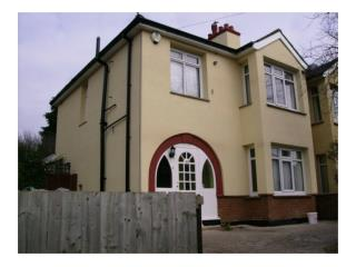 External wall insulation & rendering Nottingham
