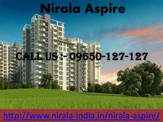 Nirala Aspire Residential project
