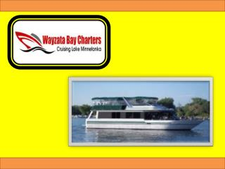 Minnetonka Charter Boat