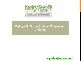 Orthopedic Shoes for Men, Women and Children