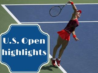 U.S. Open highlights