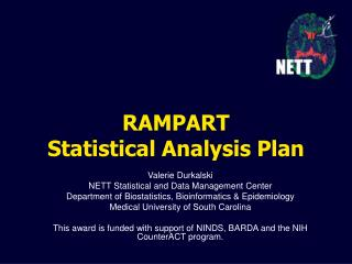 RAMPART Statistical Analysis Plan