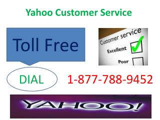 1-877-788-9452 Yahoo Customer Service Toll Free number