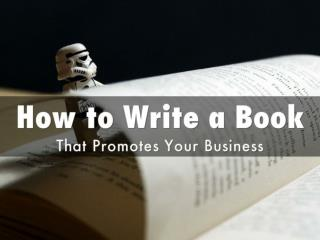 How To Write a Book in 7 Days - Tips For Writing Nonfiction