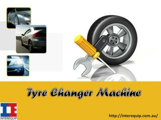 Various Tyre changer Machine For Sale