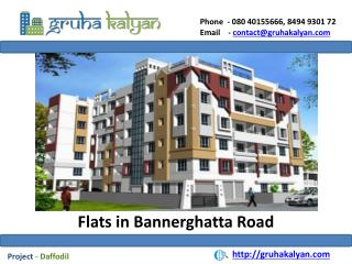 Apartments for sale in Bannerghatta Road