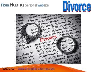 Fast Divorce Processing in China