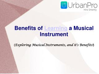 Benefits of learning a musical instrument