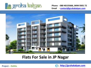 Flats for Sale in JP Nagar