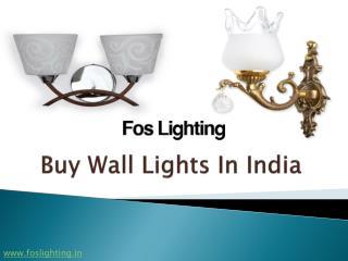 Buy Wall Lights in India - Foslighting