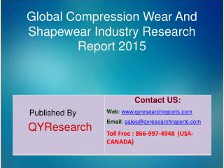 Global Compression Wear And Shapewear Market 2015 Industry Growth, Trends, Research, Analysis and Overview