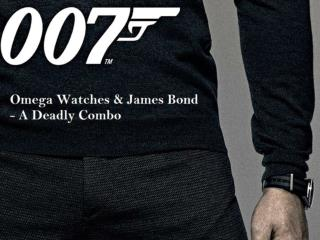 Omega Watches & James Bond - A Deadly Combo