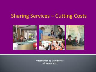 Sharing Services – Cutting Costs