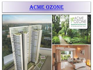 Acme Ozone, Property in Mumbai-9999742391