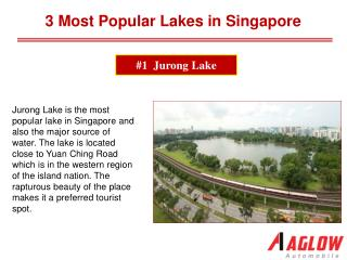 3 Most Popular Lakes in Singapore