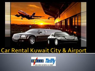 Car Rental Kuwait City - Online Booking