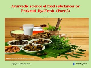 Stay healthy with right food for diet by Prakruti Jiyofresh