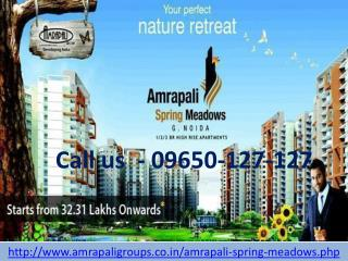 Welcome to Amrapali Spring Meadows