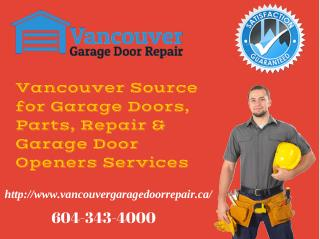 Garage Door Opener, Installation, Parts, Commercial & Residential Door Repair Service
