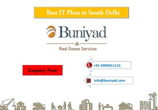 IT Plots for sale in South Delhi