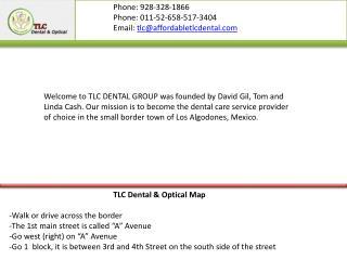 Dentist & optical algodones