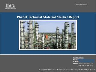 Phenol Market Report: Industry Analysis, Prices & Trends