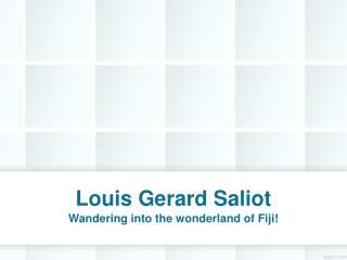 Louis Gerard Saliot | Gerard Saliot | CEO of EAM Group