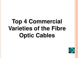 Plastic fibre optic cable