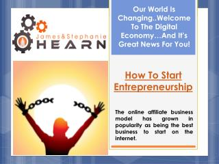 Start Internet Business