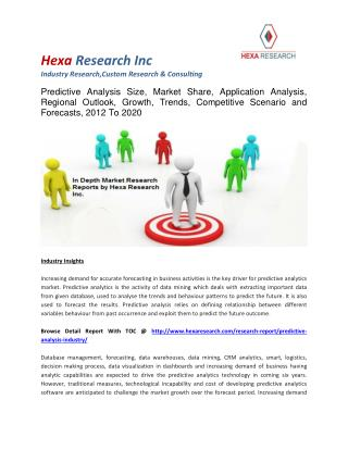 Global Predictive Analysis Market Size, Market Share, Application Analysis, Regional Outlook, Growth Trends, Competitive