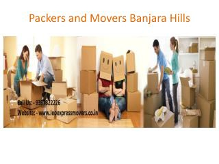 Packers and Movers Banjara Hills